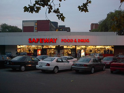 The Psycho Safeway downtown Portland Oregon