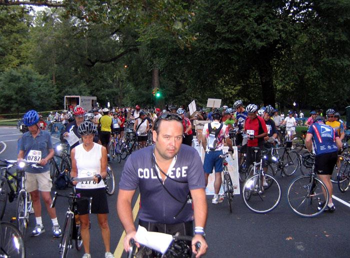 2007 NYC Century (Starting Line)