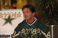 Phillipe (ecrosstexas) Tags: dallasstars dallasgalleria phillipeboucher dallasstarsicebreaker