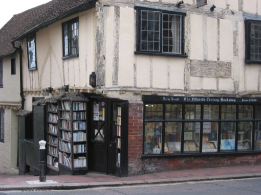 an old bookshop in lewes