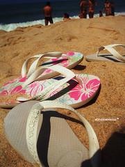 todo mundo usa. (alineioavasso) Tags: praia beach stand areia havaianas slipper slippers chinelos chinelo aslegtimas challengeyouwinner a3b