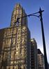 reflected sunlight (Adam FLiK) Tags: street city blue light sky sun chicago building illinois nice nikon day patterns pole il tamron f28 d1x 2875mm adamflikkema