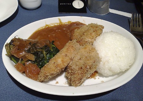 Home-style pork tonkatsu with Japanese-style curry sauce
