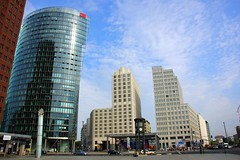 Potsdamer Platz, Berlin (Kuzmitch) Tags: berlin potsdamerplatz sonycenter sonycenterberlin