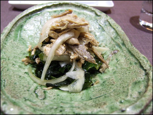 Kabuki Wellington - Seaweed Salad with Partridge