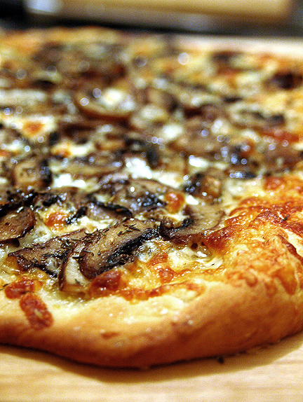 Portobello & White Truffle Oil Pizza
