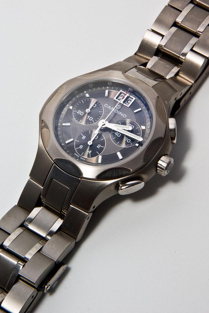 Candino Sportive Chronograph (Craig Jewell Photography) Tags  grey iso100  crystal swiss watch gray 7ac1a701511