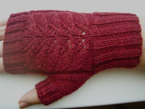 Fingerless Mitts for Testing