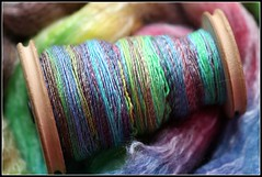 *ReFresh* your stash with some Handspun!  Custom Spinning YFMW