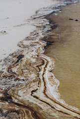 Oily Water (Brian Hart) Tags: water alabama oil bp spill mobilebay fortmorgan deepwaterhorizon
