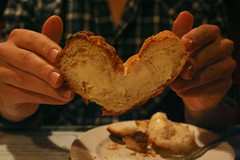 Heart-shaped Bread
