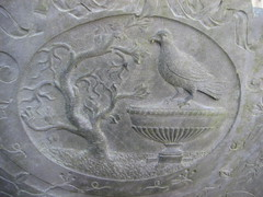 IMG_8442 Seagrave Churchyard. All Saints (speccy_beardy) Tags: urn dove headstone gravestone churchyard swithlandslate dovetreeurn