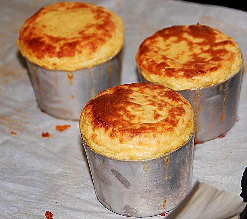 sformatini di finocchio con salsa caramellata all'arancia