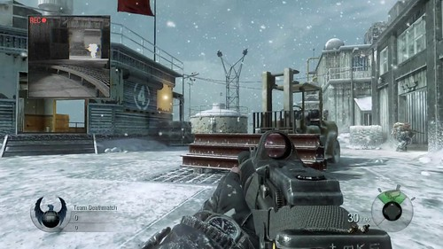 Call of Duty: Black Ops features extensive multiplayer mode, which lets you