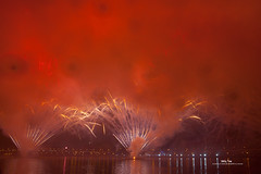 - It is not totally a bad thing to have so much smoke in firework. It looks like two fire fans. ( Will Street Photo) Tags: firework taipei