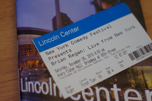 Tickets to Brian Regan in NYC