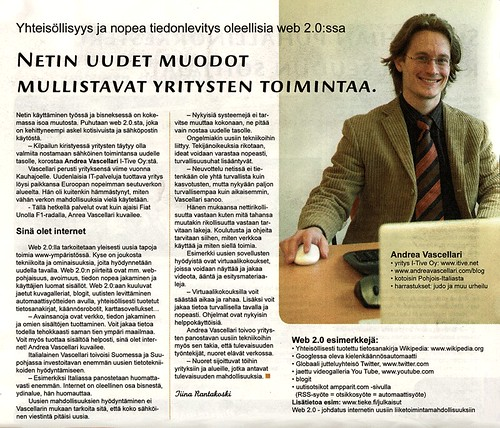 Web 2.0 Interview - Suupohjalainen 1/2007