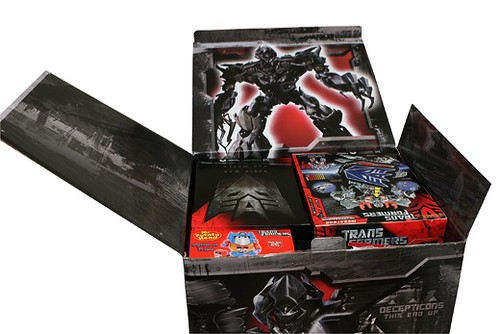 Transformers caja press kit 2