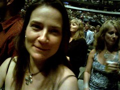 Michele at The Police concert (alexmuse) Tags: mobile dallas thepolice scoopt michelemuse