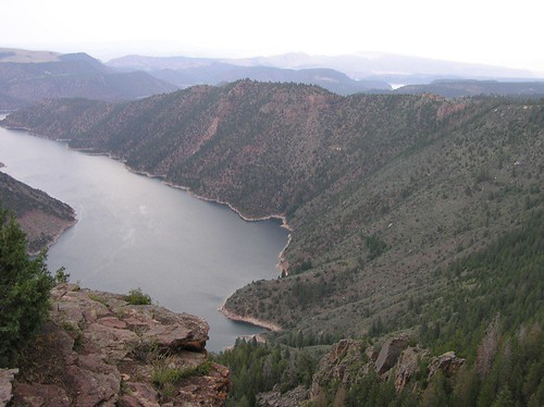 Flaming Gorge from the Canyon Rim Campground
