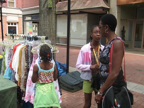 Tywana, Kayla & Shayna Shopping