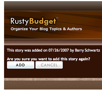 Duplicate Content Checker on RustyBudget