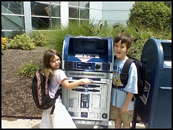 Kids and R2D2
