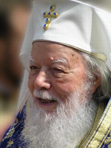 Le défunt Patriarche Téoctiste de Roumanie ( † 2007)