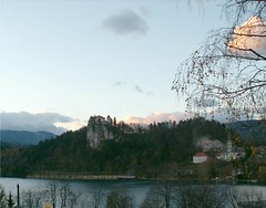 Castle on Lake Bled (Stanley Zimny (Thank You for 16 Million views)) Tags: sunset lake castles church architecture croatia bled balkans