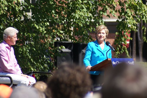 Bill/Hillary Clinton by marcn, on Flickr