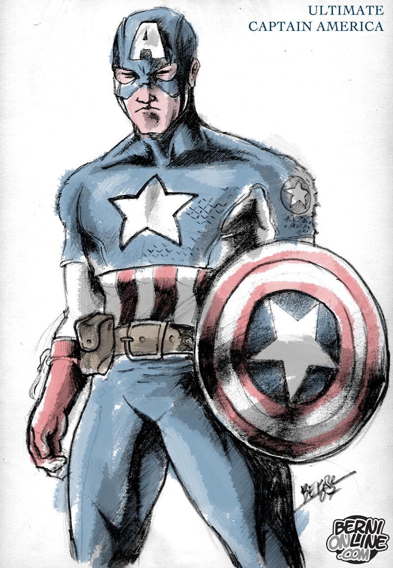 Ultimate Captain America | BerniOnLine.com