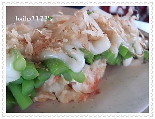蘆筍沙拉放大圖