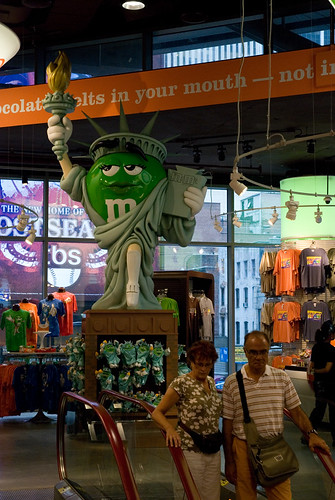 M&Ms store V