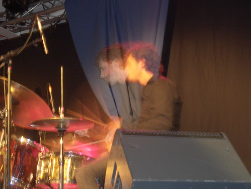 Frank Woeste Trio à Montlouis : cymbales