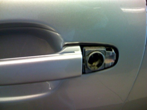 Lexus Door Lock Broken