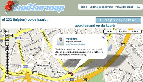twittermap by you.