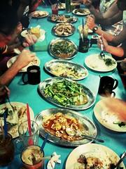 Dinner, Pulau Tioman