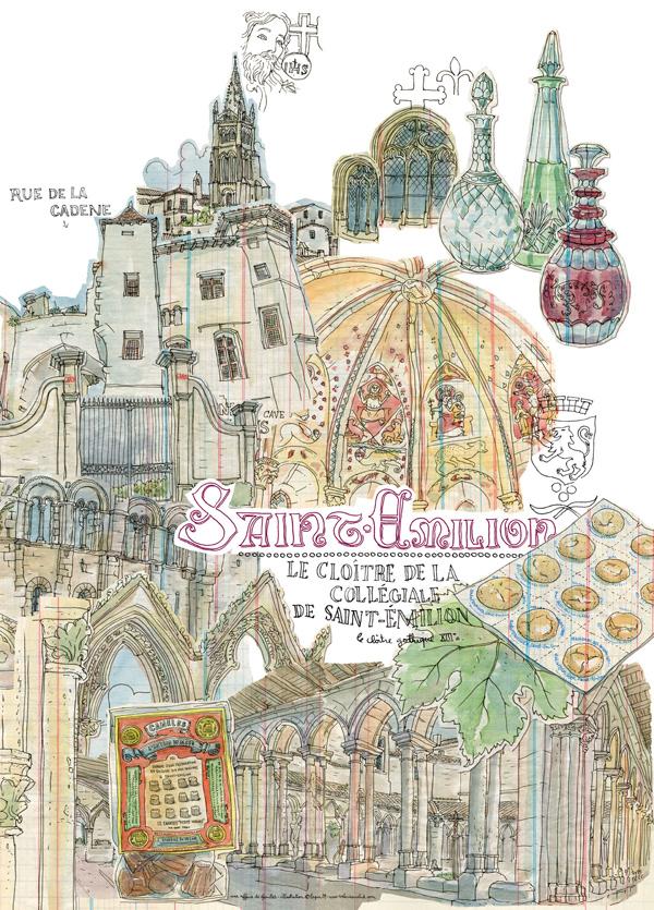 saint-émilion - poster