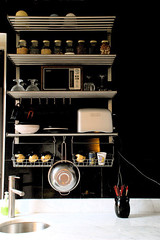 Open Kitchen Shelving Inspiration