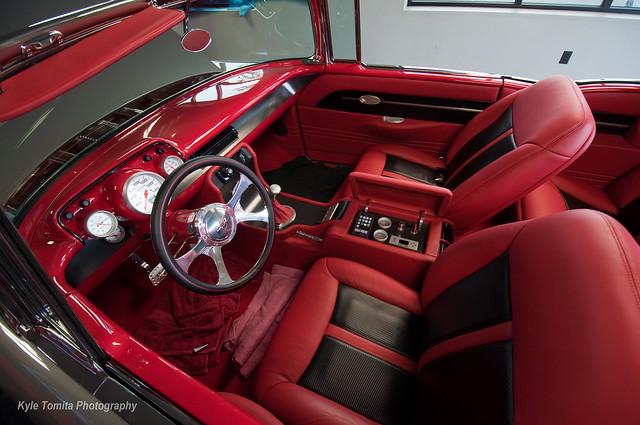 57 BelAir SS interior