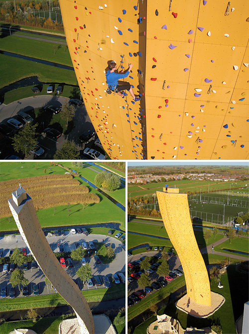 Excalibur: el rocódromo más alto del mundo