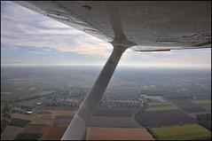 F-HAJG (BNSXB) Tags: sky france landscape view flight wing ciel sp alsace vol skyhawk cessna 172 aile