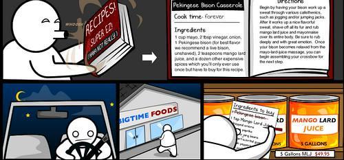漫畫:喂神馬多數Geek 都不會在家做飯?