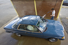 Old Blue (mercedesmotoring) Tags: road door trip blue original 2 classic car francis mercedes diesel cd low mint wash mercedesbenz 1978 miles 300 coupe jg 2door 300cd nonturbo worldcars mercedesmotoring mercedesmotoringcom c123d30