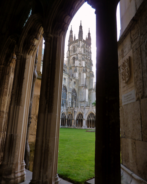 Canterbury Cathedral ~ cloister
