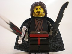 Lord of the Rings Custom Lego Aragorn-Strider