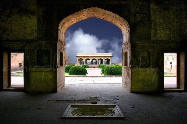 Lahore Fort (Through the Frame)