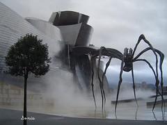 Guggenheim BILBAO (OceanOFdreams) Tags: color art museum architecture modern night spain superb creative dream bilbao architect guggenheim frankghery
