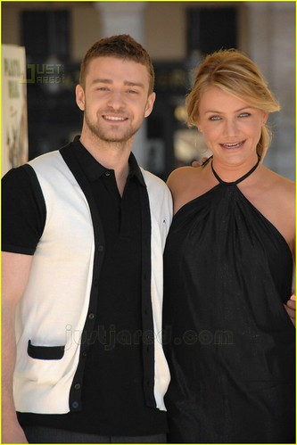 Cameron Diaz con Justin Timberlake