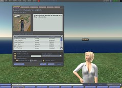 Course management in Second Life